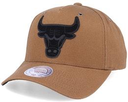 Chicago Bulls Trek Tan Adjustable - Mitchell & Ness