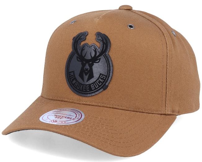 Milwaukee Bucks Trek Tan Adjustable - Mitchell & Ness