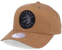 Toronto Raptors Trek Tan Adjustable - Mitchell & Ness
