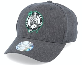 Boston Celtics Heather Team Pop Charcoal 110 Adjustable - Mitchell & Ness