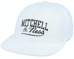 Own Brand Summer Cord White Snapback - Mitchell & Ness