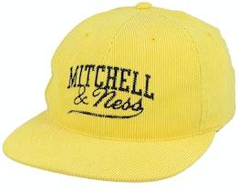 Own Brand Summer Cord Yellow Snapback - Mitchell & Ness