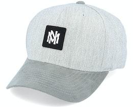 Monotone Heather Grey 110 Adjustable - Mitchell & Ness