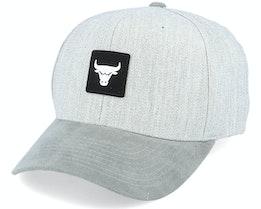 Chicago Bulls Monotone Heather Grey 110 Adjustable - Mitchell & Ness