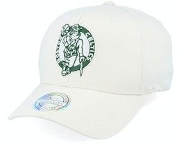 Boston Celtics Stone/Forest 110 Adjustable - Mitchell & Ness