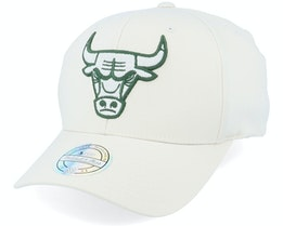 Chicago Bulls Stone/Forest 110 Adjustable - Mitchell & Ness