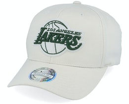 LA Lakers Stone/Forest 110 Adjustable - Mitchell & Ness