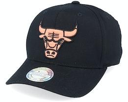 Chicago Bulls Black/Orange 110 Black/Orange - Mitchell & Ness