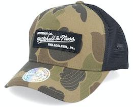 Own Brand Duck Camo/Black 110 Trucker - Mitchell & Ness