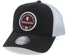 Own Brand 3 Tone Black/White Trucker - Mitchell & Ness