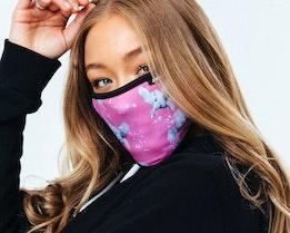 Unicorn Sparkle Pink Face Mask - Hype
