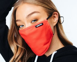 Red Adjustable Face Mask - Hype