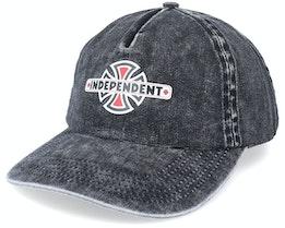 Vintage B/C Mineral Wash Black Dad Cap - Independent