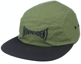 Span Logo Cap Olive/Black 5-Panel - Independent