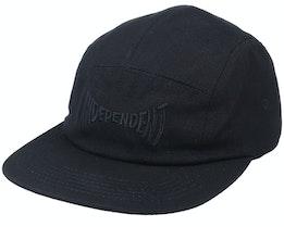 Span Logo Cap Black/Black 5-Panel - Independent