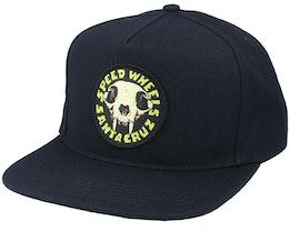 Sw Skull Black Snapback - Santa Cruz