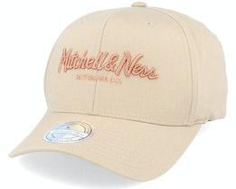 Own Brand Metallic Pinscript Khaki/Copper 110 Adjustable - Mitchell & Ness