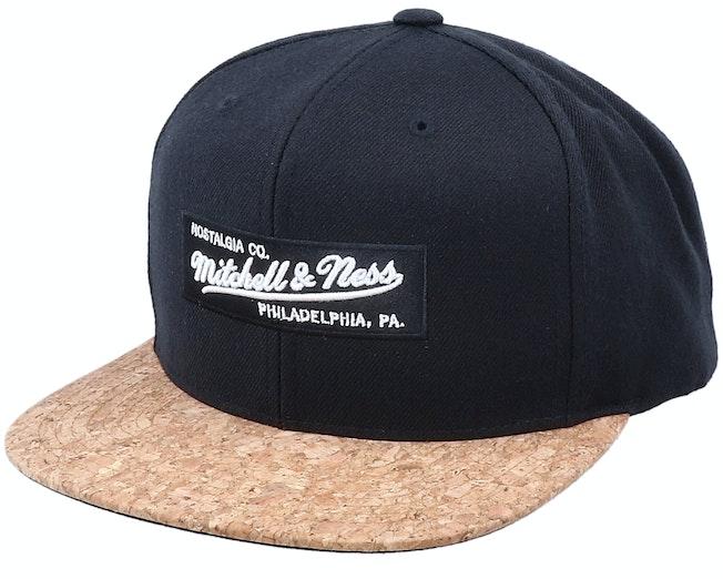 Own Brand Black/Cork Snapback - Mitchell & Ness