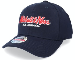 Hatstore Exclusive x Pinscript Baseball Navy - Mitchell & Ness