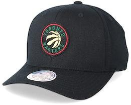 Toronto Raptors Luxe Black 110 Adjustable - Mitchell & Ness