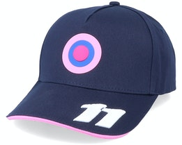 Racing Point Official Team Sergio Perez Navy Adjustable - Formula One