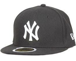 Kids NY Yankees MLB League Basic Black/White 59Fifty - New Era