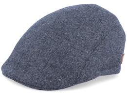 Maddy El Wool Anthracite Flat Cap - MJM Hats