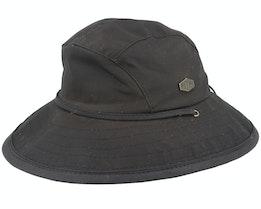 Utrecht Wax Cotton Brown Southwest Hat - MJM Hats