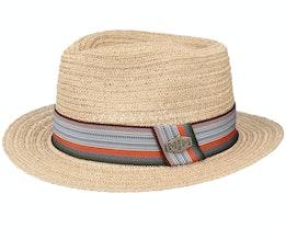 Vianen Hemp Beige Straw Hat - MJM Hats