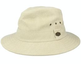 Assen Washed Cotton Beige Hat - MJM Hats