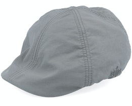 Jones Taslan Anthracite Flat Cap - MJM Hats