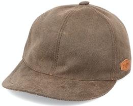Baseball El W.P. Cotton Brown Ear Flap - MJM Hats