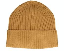 Beanie 100% Merino Wool Curry Cuff - MJM Hats