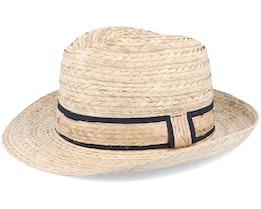 Conrad Brown Straw Hat - MJM Hats