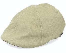 Duck Slub Cotton Olive Flat Cap - MJM Hats