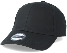 Wolf Baseball Cap Black Adjustable - State Of Wow