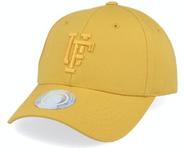 Spinback Low Crown Baseball Yellow Adjustable - Upfront