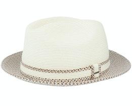 Mannesroe Ivory/Adobe Multi Straw Hat - Bailey