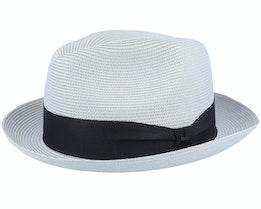 Craig Light Grey Straw Hat - Bailey