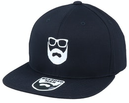 Logo Black Fitted - Bearded Man