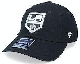 Los Angeles Kings Primary Logo Core Black Dad Cap - Fanatics