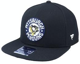 Pittsburgh Penguins Primary Logo Core Black Snapback - Fanatics