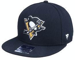 Pittsburgh Penguins Primary Logo Core Snapback Black - Fanatics