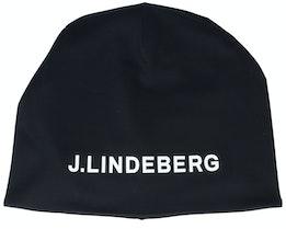 Mid Black/White Beanie - J.Lindeberg
