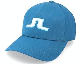 Angus Golf Cap Majolica Blue Adjustable - J.Lindeberg