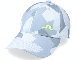 Camou Golf Print Cap Grey Camo Adjustable - J.Lindeberg