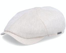 Newsboy Slim Cap Sand Flat Cap - Wigéns
