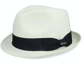 Fedora Hat Ecru Trilby - Wigéns
