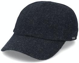 Baseball Cap Dark Grey Melange Ear Flap - Wigéns