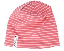 Kids Topline Soft Red/Peach Beanie - Geggamoja